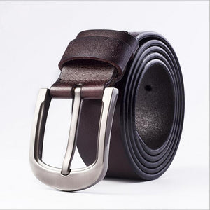 Cow Leather Coffee Brown Belts ZK012