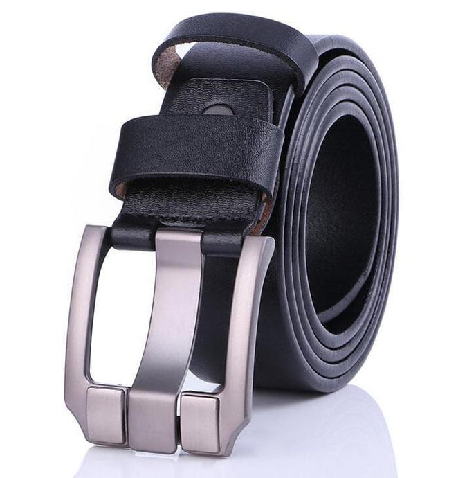 Cow Leather Black Belts ZK035