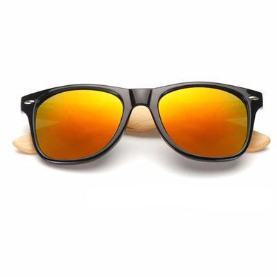 Ralferty Wooden Frame Black Red Mercury Sunglasses Online Store UAE