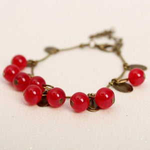 Cherry Bracelet Online Shopping Store