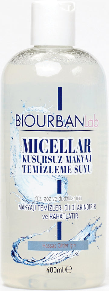 MAKE UP CLEANSING WATER 400 ML (BIOURBANLab) Online Shopping Store