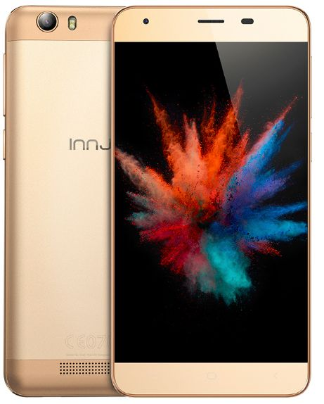 Innjoo Fire2 Plus Dual Sim - 16GB, 4G LTE, Gold Online Shopping Store