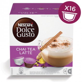 NESCAFE DOLCE GUSTO CHAI TEA LATTE - 3 Packs (48 Capsules) Online Shopping Store