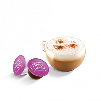 NESCAFE DOLCE GUSTO CHAI TEA LATTE - 3 Packs (48 Capsules, 48 Cups)