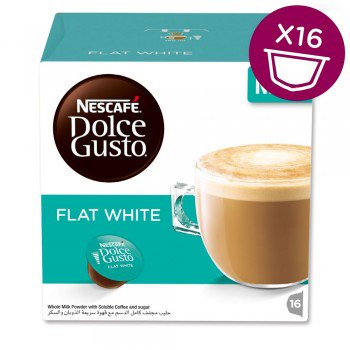 NESCAFE DOLCE GUSTO ESPRESSO FLAT WHITE Online Shopping Store
