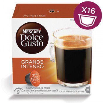 NESCAFE DOLCE GUSTO ESPRESSO GRANDE INTENSO - 3 Packs (48 Capsules) Online Shopping Store