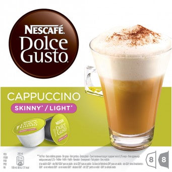 NESCAFE DOLCE GUSTO SKINNY CAPPUCCINO - 3 Packs (48 Capsules)