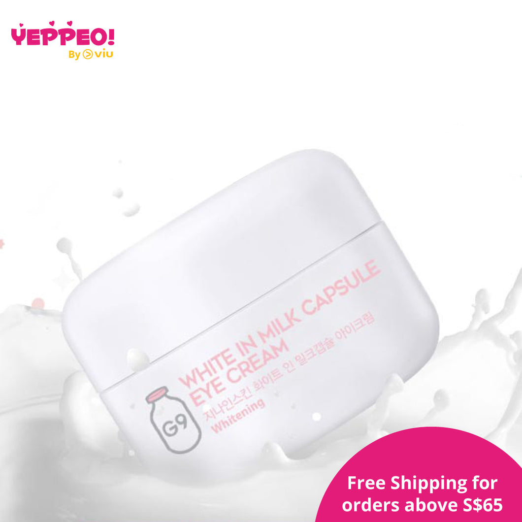 G9Skin White In Milk Capsule Eye Cream (30ml)