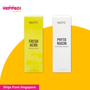 Bundle: Nacific Fresh Herb Serum (50ml) + Phyto Niacin Whitening Essence (50ml)
