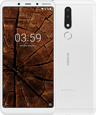 Nokia 3.1 Plus product shot