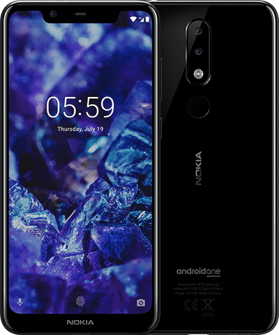 Nokia 5.1 Plus product shot