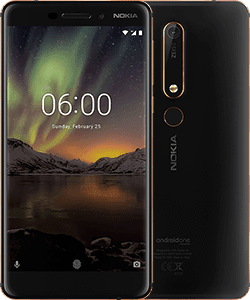 The new Nokia 6 product shot
