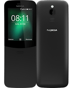 The new Nokia 8110 4G product shot
