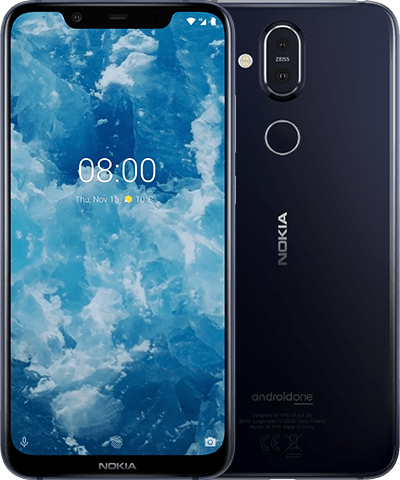 Nokia 8.1 product shot