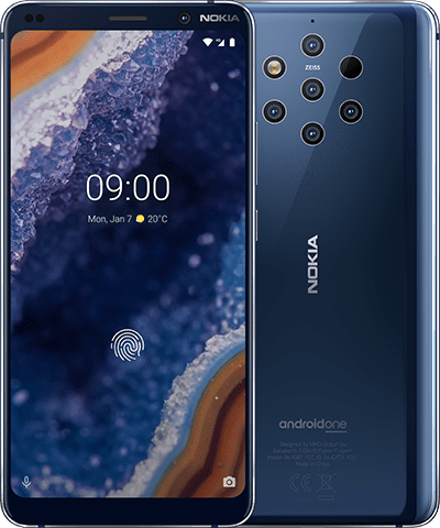 Nokia 9 PureView product shot