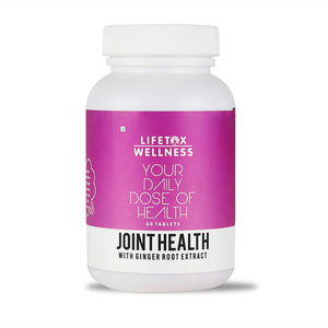 Lifetox Wellness Joint Health with Ginger Root Extract | Joint Multivitamin (60 Tablets)