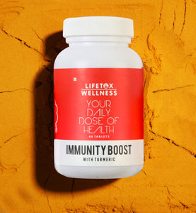 Lifetox Wellness Immunity Boost with Turmeric (Curcumin) | Multivitamin (60 Tablets)