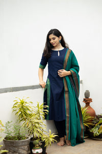 Manjari Blue (2pc Set)