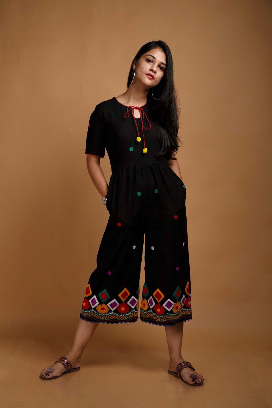 Black Banjara Jumpsuit