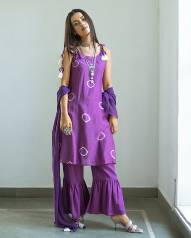 Vetali Kurta/ Sharara Set