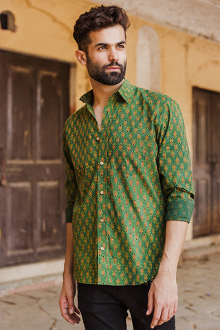 Green Kali Shirt