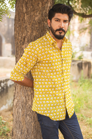 Yellow Camel Shirt
