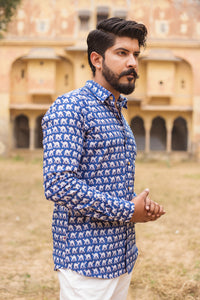 Blue Camel Shirt