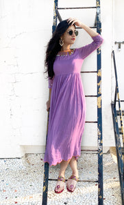 Lilac Sequence Dress