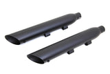 Black Street Cannon Slip-On Mufflers For Harley-Davidson Sportster 2014-Later