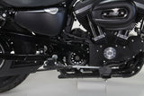 Oulaw Black Front Pulley Cover Kit For Harley-Davidson Sportster