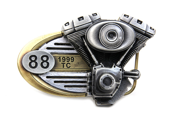 Premium Collector's Harley-Davidson Twin Cam 88 Engine Belt Buckle