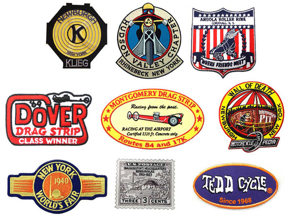 Vintage Motorcycle Patch Set For Harley-Davidson Riders