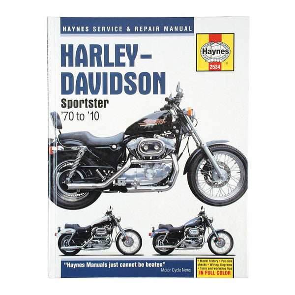 Haynes Workshop Service Manual For Harley-Davidson Sportster 1970-2013