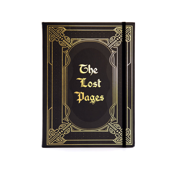 The Lost Pages Hard Cover Journal