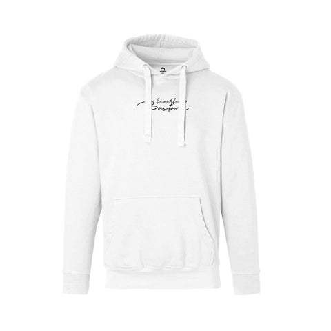 Beautiful Bastard Hoodie (white) | Official Philip DeFranco Merch