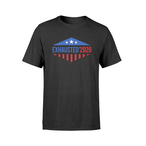 Stars & Stripes Exhausted 2020 T-Shirt | Exclusive Philip DeFranco Merch