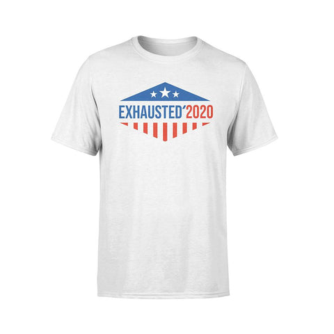 Stars & Stripes Exhausted 2020 T-Shirt