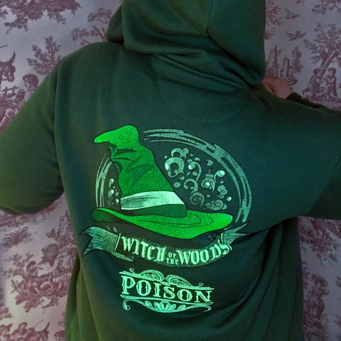Witch of the Woods Poison Hoodie