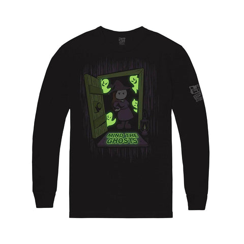 Mind the Ghosts Glow-In-The-Dark Shirt