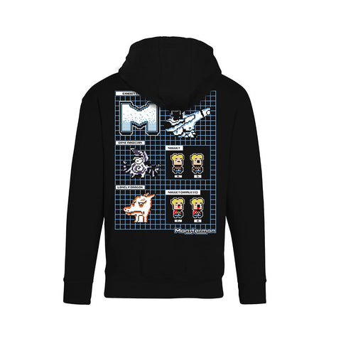 Monstermon Zip-Up Hoodie | Official Kindergarten & Smash Games Merch