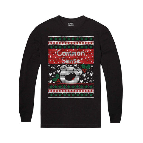 Common Sense Ugly Holiday Shirt | Official SomeThingElseYT Merch - Creator Ink