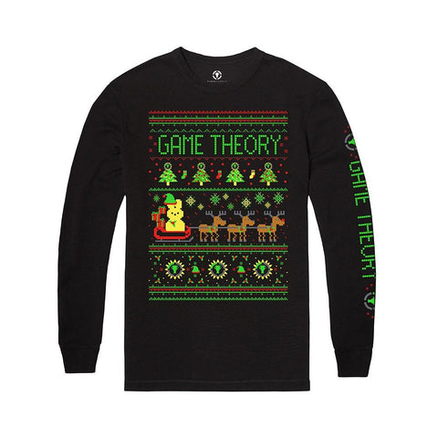Peep-a-Claus Ugly Holiday Shirt | MatPat & Game Theory Merch - Creator Ink