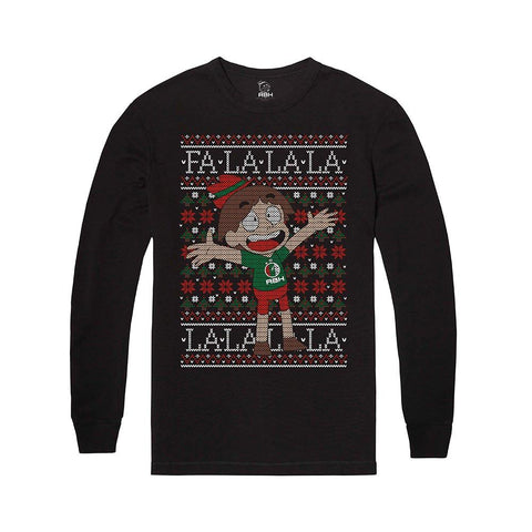 Falala Ugly Holiday Shirt | Official FootofaFerret Merch - Creator Ink