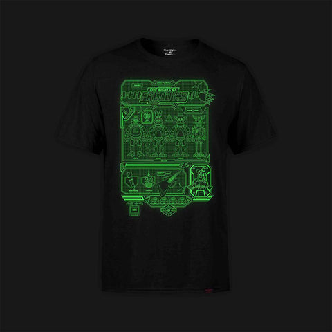Hover Grid Glow-in-the-Dark T-Shirt