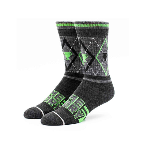 Winter Warrior Argyle Socks | Official MatPat & Game Theory Merch