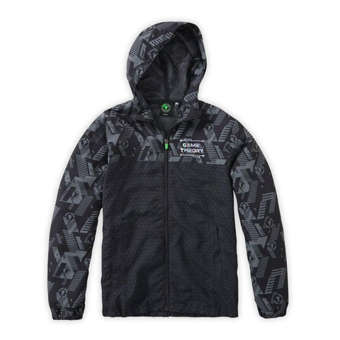 Game Theory Full Zip Windbreaker | Official MatPat & Game Theory Merch
