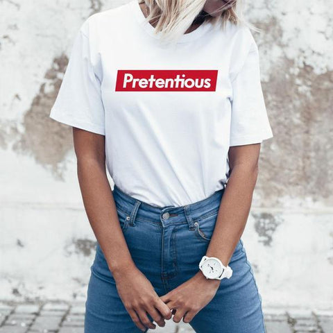 Pretentious T-Shirt by Philip DeFranco - Creator Ink