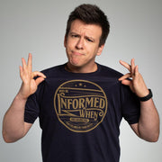 Why Be Informed T-Shirt by Philip DeFranco - Creator Ink