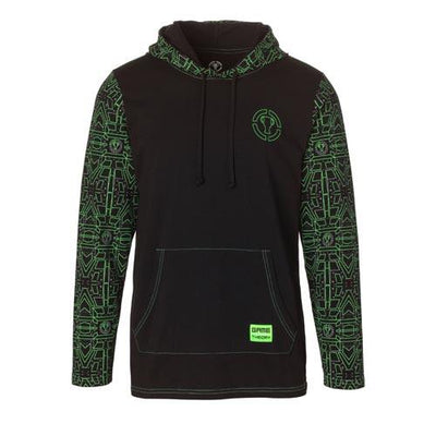 Laser Long-Sleeve Hooded Tee by MatPat and Game Theory - Creator Ink