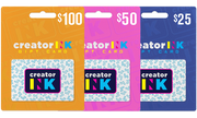Creator Ink Gift Card